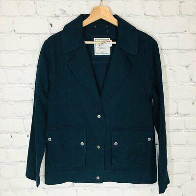 ABERCROMBIE & FITCH Navy Blue Khaki Cotton Jacket Men's XS XSmall NWT NEW