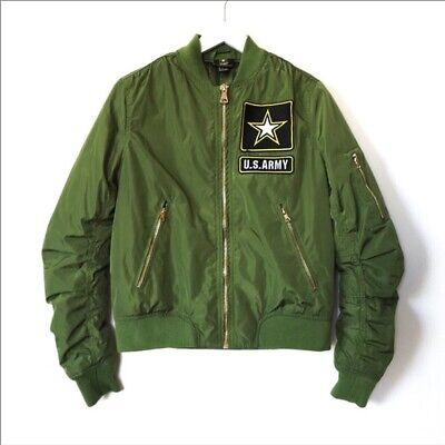 US Army women's bomber jacket sz S