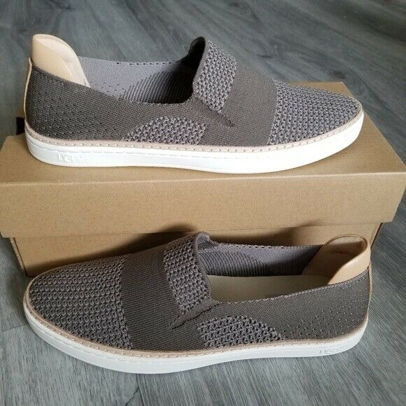 Ugg Australia Women's Sammy Sneakers 1016756 Slate/Gray Olive Green Sz 6-8 NIB
