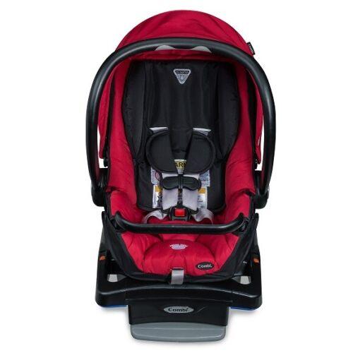 COMBI SHUTTLE INFANT CAR SEAT, RED *DISTRESSED PKG*