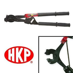 """NEW HK PORTER 29 1/4"""" CABLE CUTTERS RATCHET SHEAR CUT BLADES RATCHETING SYSTEM HAND TOOL CUTTING CABLES CUTTER BOLT"""