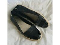 Anne Klein Saleem Espadrilles Flat Iflex Size 5