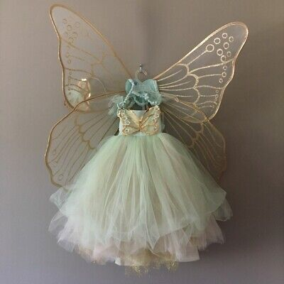 Pottery Barn Kids Butterfly Fairy Halloween Costume Mint 7-8 Years READ!  #2780