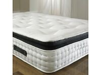 BRAND NEW King Size Mattress Pocket 3000 Quilted Spring Ortho Pillow Top Mattress