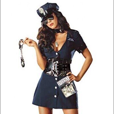 Dreamgirl Cop female costume Size S](Cop Costume Female)