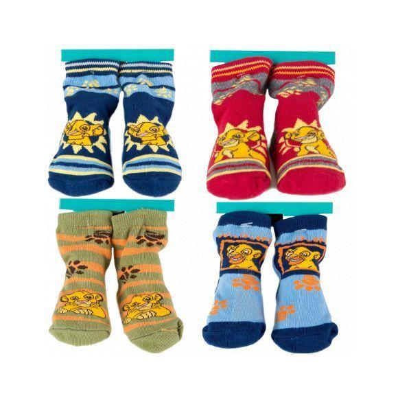 Pack de 4 paires de chaussettes LE ROI LION