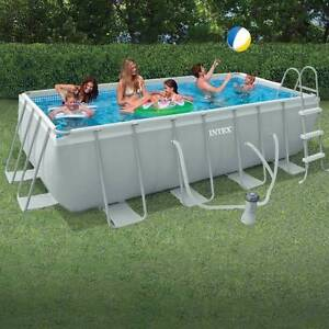 Intex Above Pool 2 x 4 Metres/ Pump/ Ladder/ Pipes/ Chemicals Semaphore South Port Adelaide Area Preview
