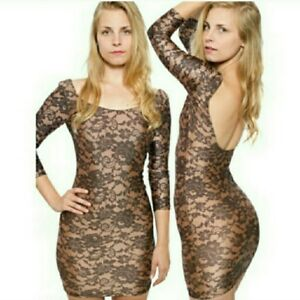 American Apparel faux lace dress $20