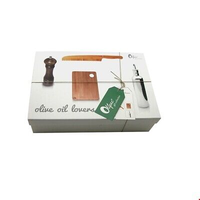 I Genietti COOKERY GIFT SET - OLIVE OIL LOVERS