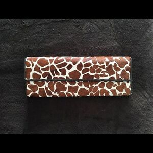 ALDO Giraffe Print Wallet / Purse New with $50 Price Tag