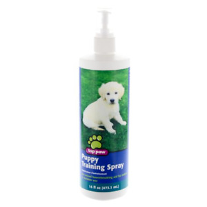 LARGE BOTTLE OF TOP PAW PUPPY TRAINING SPRAY 16oz