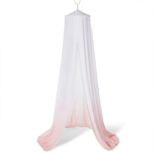 Pillowfort Dip Dye Twin Bed/ Play Area Canopy (Pink/White)