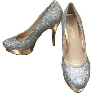 Enzo Angiolini sparkle heels size 9