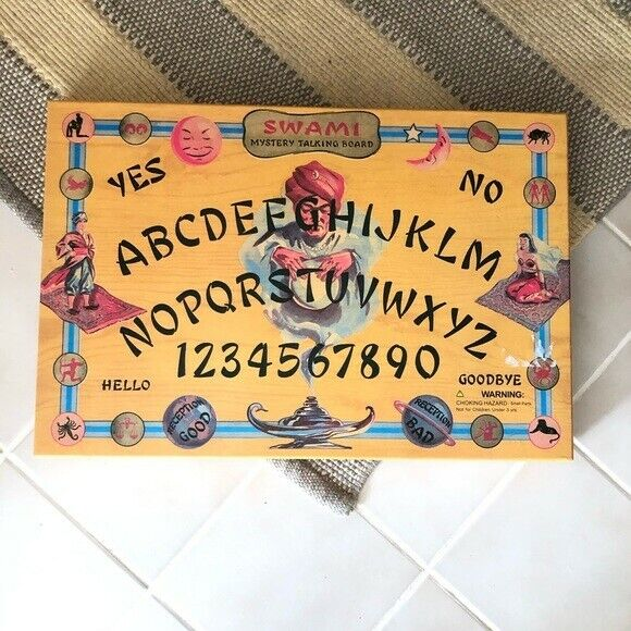 Swami Mystery Talking Board Ouija Magic Mysticism Fortune 666 Psychic Paranormal