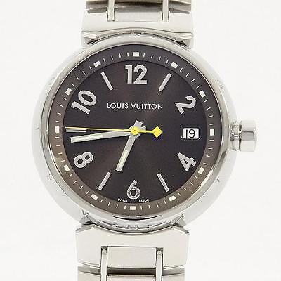Authentic LOUIS VUITTON Q1311 Tambour Quartz  #260-001-490-2611