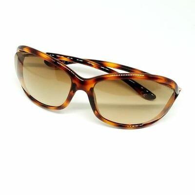 Authentic Tom Ford Jennifer Sunglasses Tortoise Gradient Women's FT0008 TF8 (Jennifer Tom Ford)