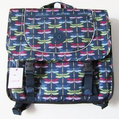 Kipling Bag School Bag Backpack Dragonfly