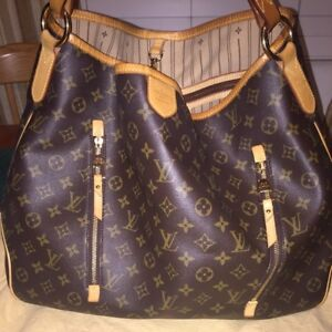 SALE!! LOUIS VUITTON Monogram Delightful GM Shoulder bag