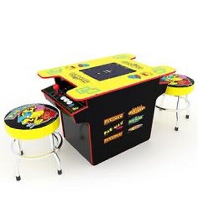ARCADE1UP 6-IN-1 HEAD TO HEAD PAC-MAN GAME TABLE