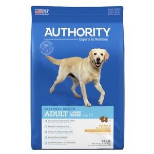 Authority® Large Breed Adult Dog Food - Chicken & Rice (1/2 bag)