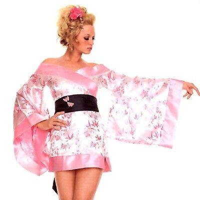 eisha Kimono Halloween S Fasching Karneval Anime Cosplay neu (Halloween-kostüm Geisha)