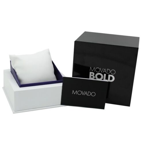 Movado Bold Watch Gift Box Complete with Manual Booklet