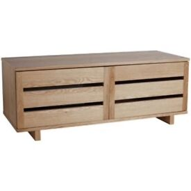 Habitat Border TV / AV Unit - oak - OPEN TO OFFERS - stylish and hardly used so in perfect condition