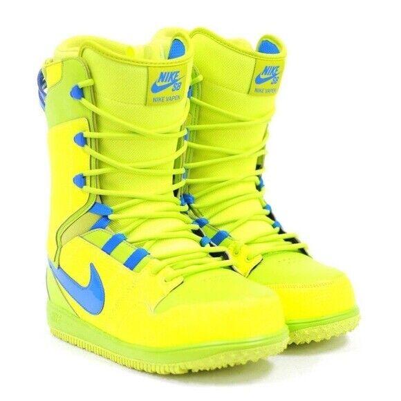 NIKE VAPEN SB SNOWBOARD BOOTS - Men's Size 9.5 - 447125-70