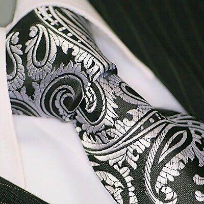 BINDER de LUXE KRAWATTE tie slips corbata cravatte Schlips Krawatten 103 Schwarz Tie Krawatte Krawatten