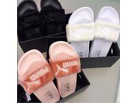 BRAND NEW Rihanna Fenty Puma Slippers flip flops slides