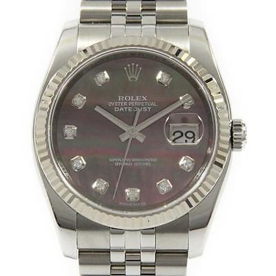 Authentic ROLEX 116234NG Datejust SSxWG Automatic  #260-002-331-0087