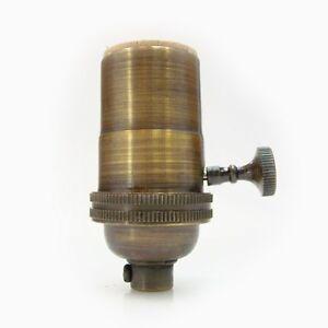 Antique Brass Light Socket Lamp Socket Pendant Rewire Lamp Cord Ebay