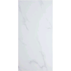 Porcelain tiles. White. Carrara Effect Job lot