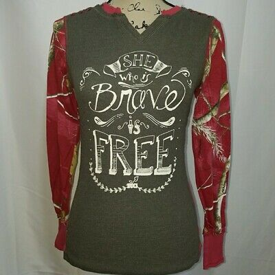 Realtree Girl Xtra Camo Women's Ruby Shirt CHOOSE SIZE Casual Hunting Ladies Girls Ladies Shirt