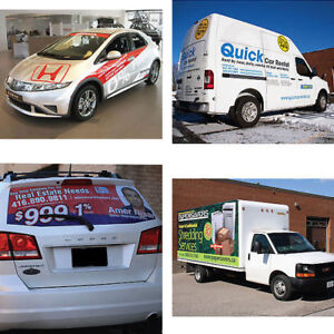 Car Decals & Custom Printed Vehicle Graphics | Affordable Prices