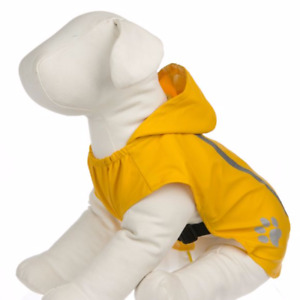 NEW!!!  Outdoor Reflective Dog Raincoat With Hood & Rubber Boots