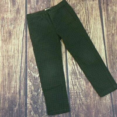 Bellerose kids cotton checked pants size 4