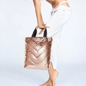 Victoria's Secret Rose Gold Tote