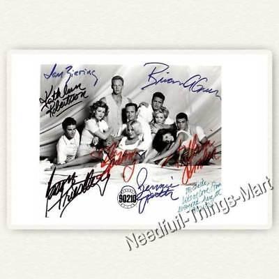 Beverly Hills 90210 - Garth, Perry, Doherthy, Cast mit Allen Stars Autogramm