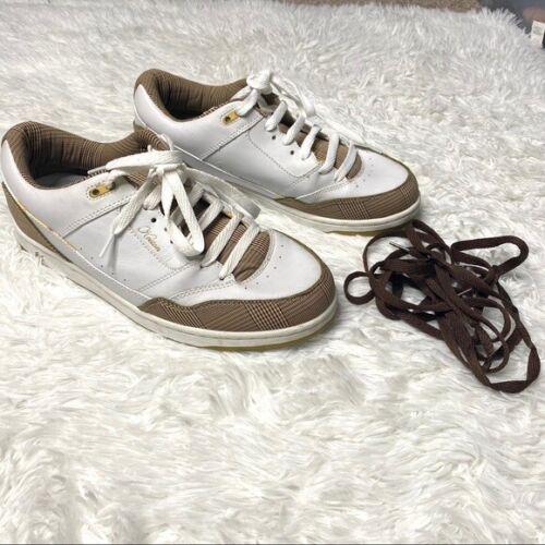 Eric Koston Vintage Skate Shoes White & Tan Men