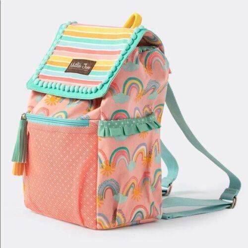 NWT Matilda Jane Color Splash Swim Backpack One Size Rainbows