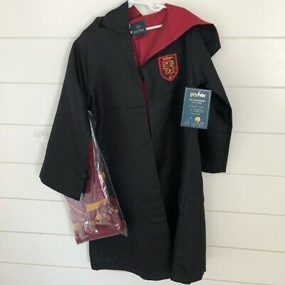 NWT/NEW POTTERY BARN KIDS HARRY POTTER GRYFFINDOR TODDLER 3T SMALL COSTUME