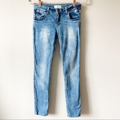 Zara Skinny Jeans US Size 6 Denim Blue