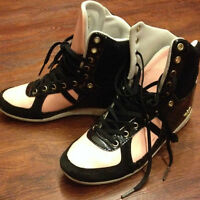 Creative Recreation Pink Patent High Top