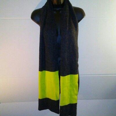 Xhilaration Unisex Black & Green Neck Scarf