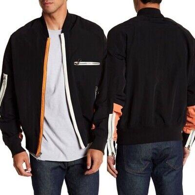 $775 NWOT Mr. Completely Zip Sport Bomber Jacket size L