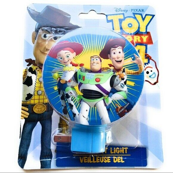 pixar toy story 4 led night light