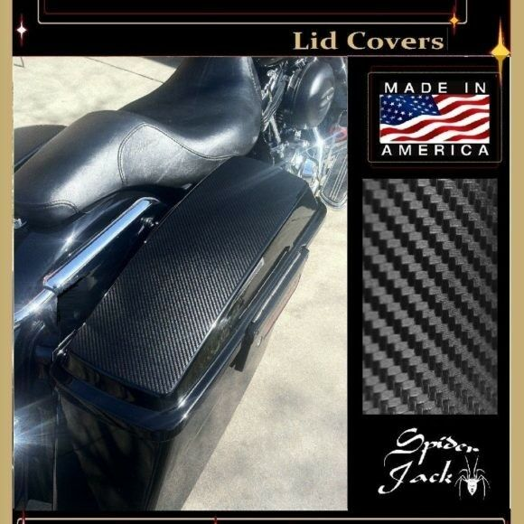 Hard bag paint protection, Saddle Bag Lid Covers,Vinyl Toppers fits H-D 2014-16