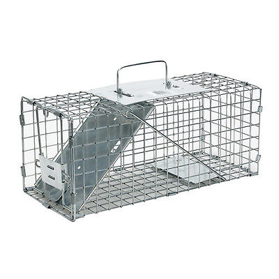 Havahart 1077 Live Humane Animal Cage Trap Squirrels Small Rabbits Mink Weasels