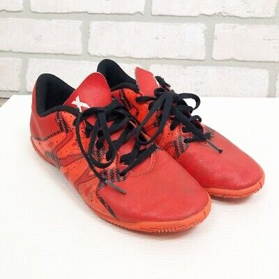 Adidas Youth Messi Soccer Cleats Athletic Shoes Orange Boys Youth Size 4